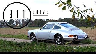 PORSCHE 911 2.2 E Coupé 1970 - Full test drive in top gear - Engine sound | SCC TV