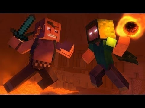 Take Back the Night A Minecraft Original Music Video Sub Español