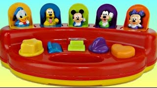 Learn Colors, Numbers with MICKEY MOUSE & Friends Pop Up Toy & Egg Surprises / TUYC