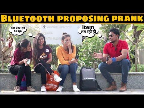 Xxx Mp4 Bluetooth Prank Flirting With Hot Girls Part 2 Prank In India 3 Jokers Pranks 3gp Sex