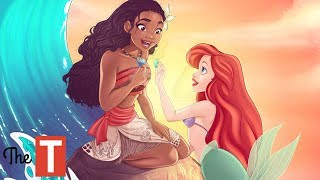 10 Disney Princess Connections That Will Make Your JAW DROP