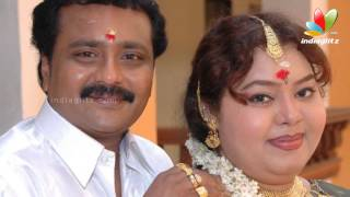 Comedy actors couples Aarthi and Ganesh canvas for two different political parties