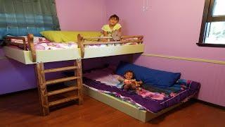 DIY Bunk Beds