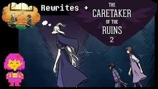 Undertale Comic: Rewrites + Caretaker of the Ruins 2