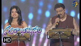 Oka Laila Kosam Song |SP Balu,Sanjana Performance | Swarabhishekam | 29th October 2017 | ETV  Telugu