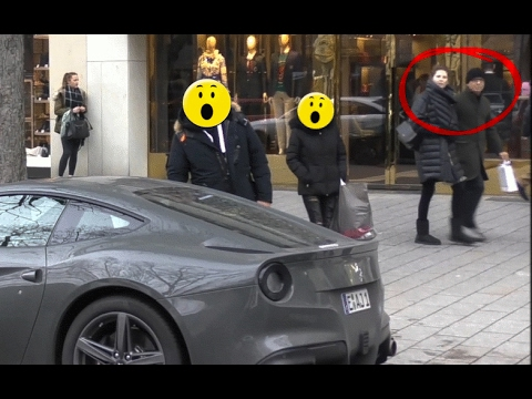 Xxx Mp4 Ferrari F12berlinetta People Reactions In Düsseldorf 3gp Sex