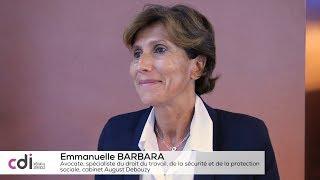 """Emmanuelle Barbara : """"Les protections des travailleurs indépendants sont imparfaites"""""""