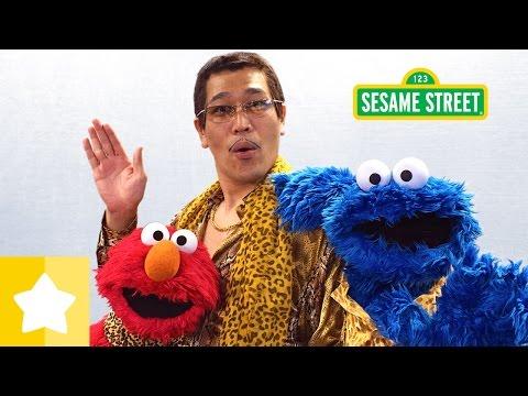 セサミストリート: CBCC (Cookie-Butter-Choco-Cookie) クッキー・バター・チョコ・クッキー フルバージョン/ピコ太郎、エルモとクッキーモンスター