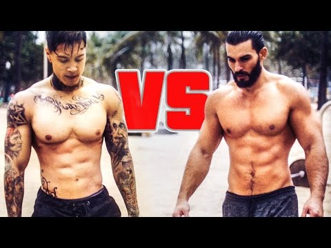 Chris Heria VS Super Sergio BAR WARS 2k16 4