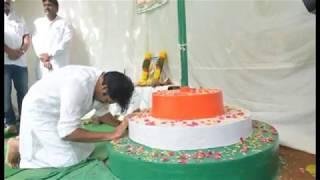 Pawan Kalyan Flag Hoisting at Janasena Party Office