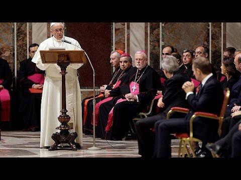 El papa Francisco pide recuperar los principios fundacionales de la Unión Europea