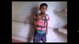 Tate gai dele 5 year Small boy singeing video