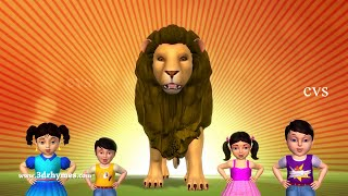 Animals Finger Family | Finger Family song | Kids Songs | Animal Nursery Rhymes for Children