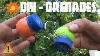 DIY Homemade GRENADE | How to make BOMB Airsoft | Full Tutorial | KesPra ✔