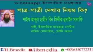 Patro Patri Dekhar Niom Ki?  Sheikh Abdul Hamid Siddik Madani |waz|Bangla waz|