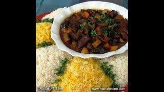 كاري اللحم بالخضراوات له نكهة مميزة - منال العالم