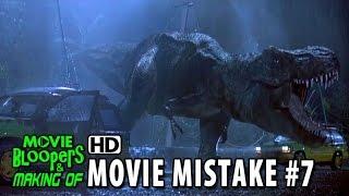 Jurassic Park (1993) movie mistake #7