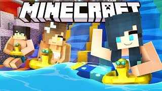THE BEST WATER PARK IN MINECRAFT! (Lapis Lagoon Waterpark)