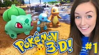 IT'S FINALLY HERE!!! - POKEMON 3D GAME!!! (Gameplay!)