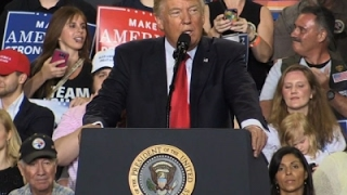 Trump Lashes Out at Media During Pa. Rally