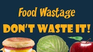 Food Wastage! An Original Music Video