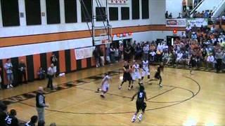 Dennis Diaz basketball highlights 2011