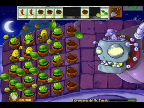 Guia Plantas vs Zombies MINIJUEGOS La venganza del Dr Zombi