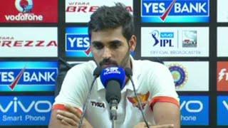 GL v SRH: Losing Mustafizur in a crucial match not good for us - Bhuvneshwar Kumar