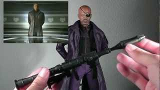 Hot Toys Avengers Nick Fury 1/6th scale figure unboxing and review