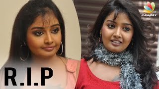 Tamil Serial Actress Sabarna Anand died