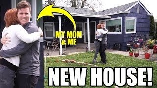 I BOUGHT MY MOM A NEW HOUSE!