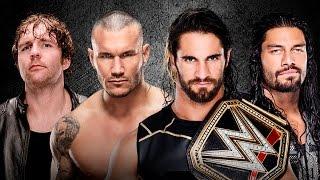 Dean Ambrose vs. Randy Orton vs. Roman Reigns vs. Seth Rollins - Payback WWE 2K15 Simulation