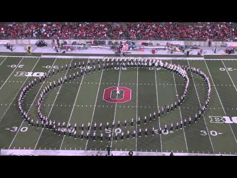 The Ohio State University Marching Band Performs their Hollywood Blockbuster Show
