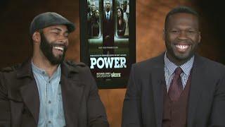 Hilarious 50 Cent & Omari Hardwick Interview! Power Season 2 on Starz!