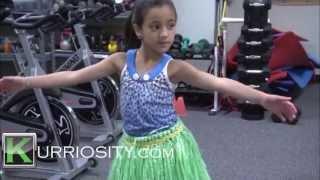 Hawaiian dancing for kids