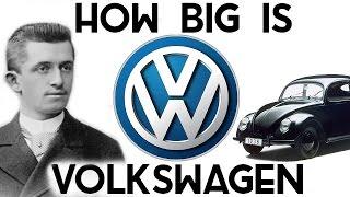 How BIG is Volkswagen? (They own Lamborghini, Bentley, Bugatti, Porsche..)