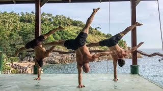 Thailand Advanced Handstand Training with Yuval Ayalon: Training VLog 127