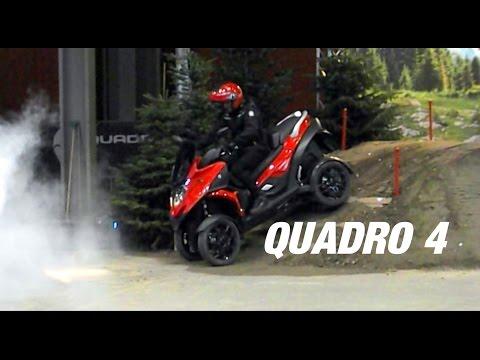 TEST QUADRO 4 EICMA Off Road TEST & Review
