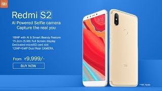 Xiaomi Redmi S2 | Capture the real you with AI Powered Selfie Camera