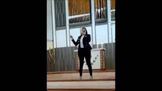 Jeanette Coron - Performing Amazing Grace (Live)