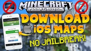 How to INSTALL MAPS/ADDONS on iOS!   No Jailbreak   No Computer   MCPE 1.1.X