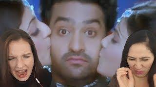 Jr NTR Brindavanam Movie Songs Blu-ray - Chinnado Vaipu Song - Kajal Agarwal Reaction Video