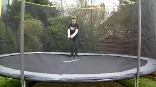 Trampling on my new trampoline