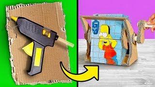 How to Turn a Cardboard Box into a Cartoon MACHINE