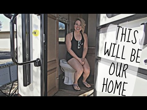 IT S FINALLY OURS CAMPER TRAILER HOME TOUR