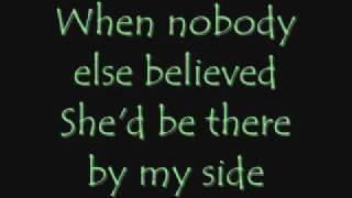 When She Cries (lyrics) - Restless Heart