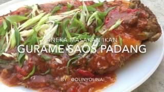 Resep Cara Membuat Ikan Gurame Saos Padang by @olinyolina