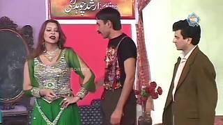 Iftikhar Thakur and Tariq Teddy New Pakistani Stage Drama Comedy Clip
