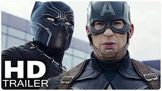 CAPTAIN AMERICA 3 CIVIL WAR Trailer German Deutsch | The First Avenger | Marvel Film 2016