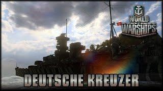 World of Warships - Deutsche Kreuzer!  [ deutsch | gameplay ]